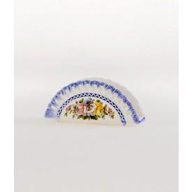 Porta tovaglioli Portichetto in ceramica decorato a mano