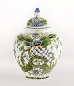 Vaso Liscio altezza cm30 Vaso liscio in ceramica decorato a mano